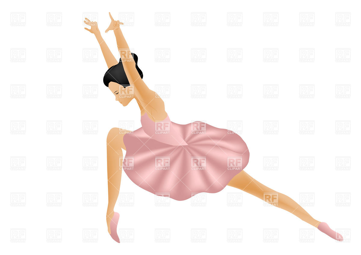 1200x849 Isolated Woman Ballet Dancer Vector Image Vector Artwork Of
