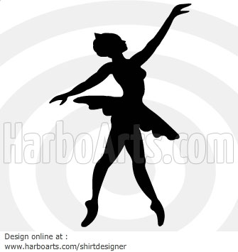 335x355 Collection Of Ballet Dancer Drawing Template High Quality