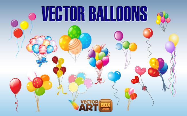 650x402 Balloons Clip Art Free Vector 4vector