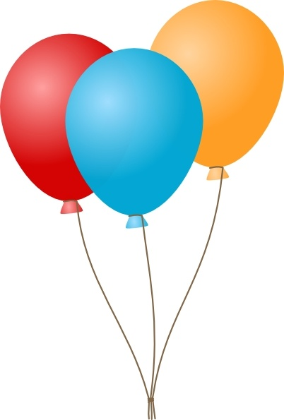 402x595 Balloons Clip Art Free Vector In Open Office Drawing Svg ( .svg