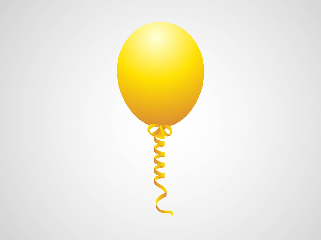1024x765 Flying Balloon Vector Vector Art Amp Graphics