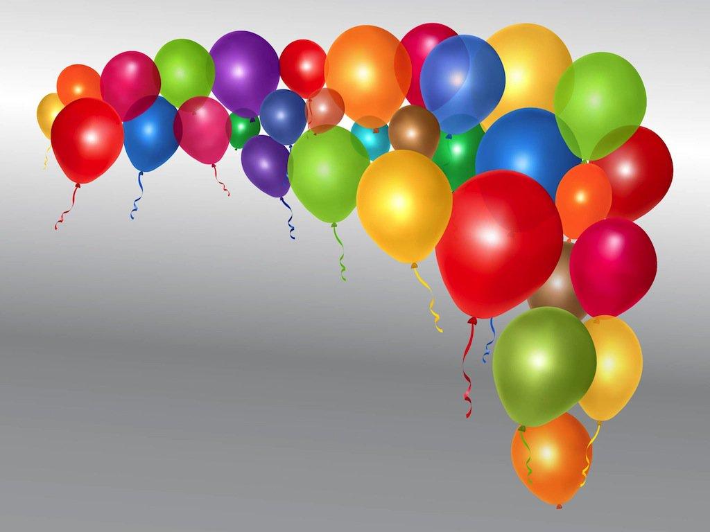1024x768 Shiny Vector Balloons Vector Art Amp Graphics