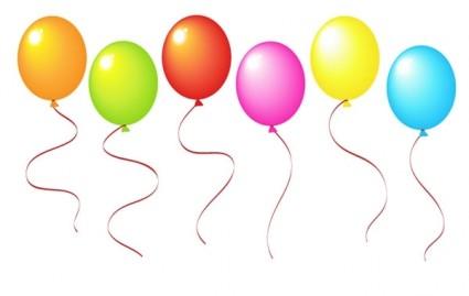 425x269 Vector Balloons Vector Art