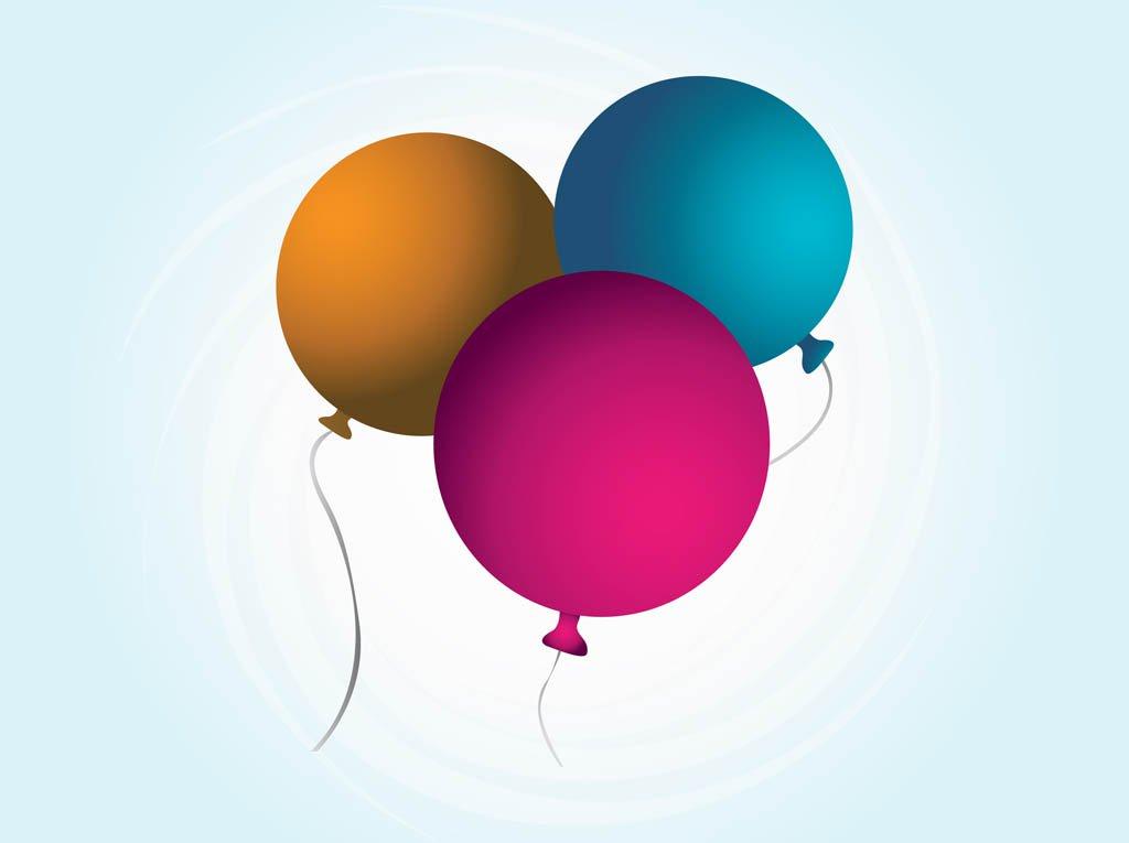 1024x765 Vector Balloons Vector Art Amp Graphics