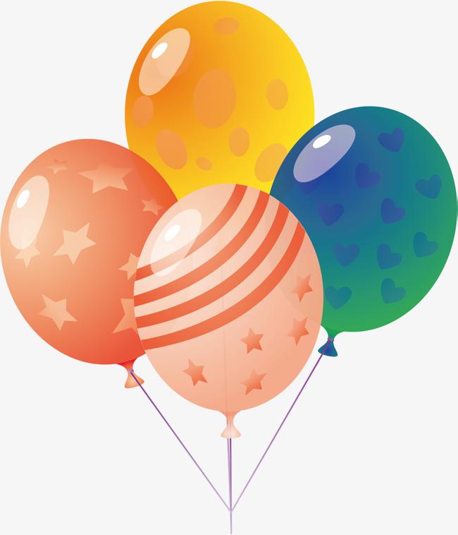650x758 Balloon Png Vector Element, Balloon Vector, Balloon Vector, Star