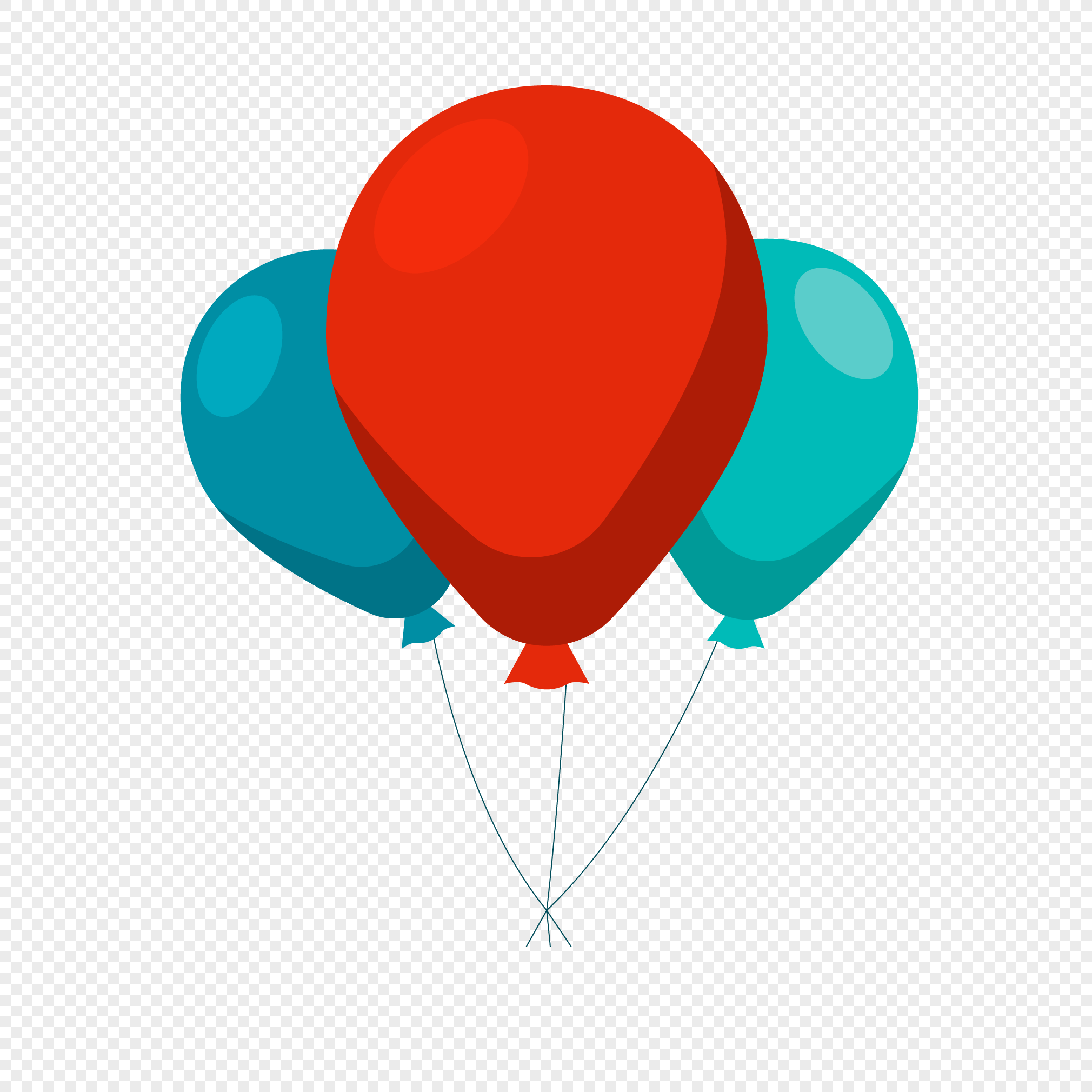 2020x2020 Celebration Carnival Balloon Vector Png Image Picture Free