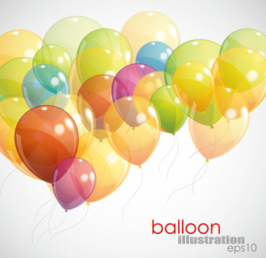 379x368 Colored Balloons Vector Png Images, Backgrounds And Vectors For