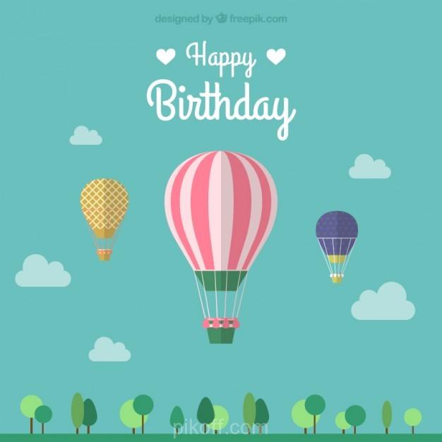 626x626 Ai] Happy Birthday Balloon Vector Vector Free Download