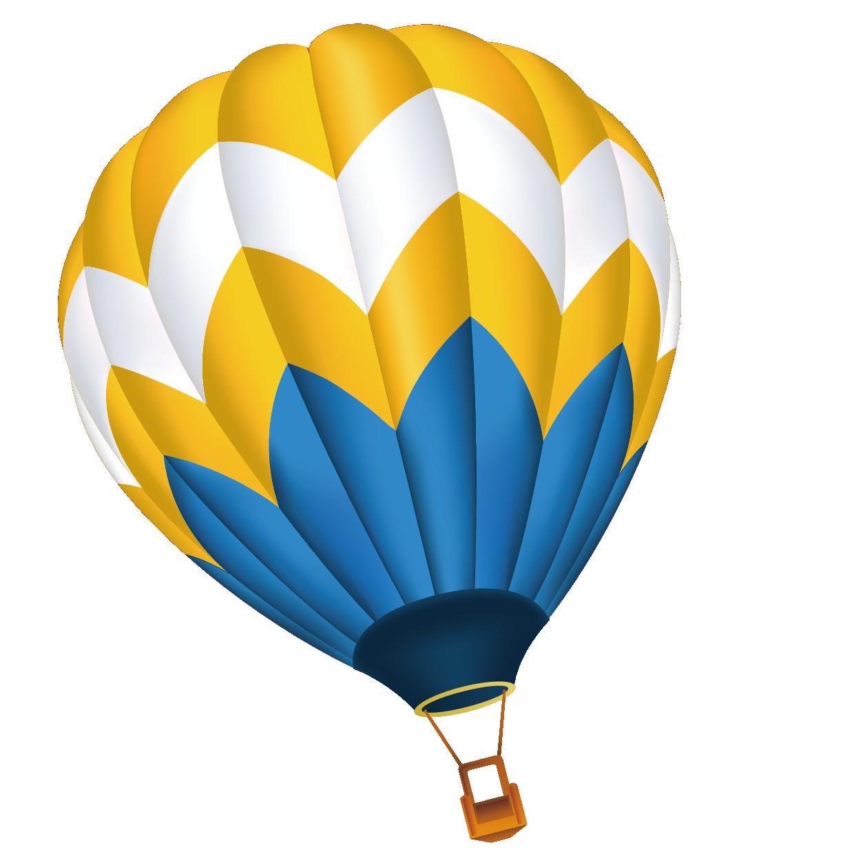 1240x1240 Hot Air Balloon Cartoon