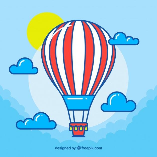 626x626 Air Balloon Vector