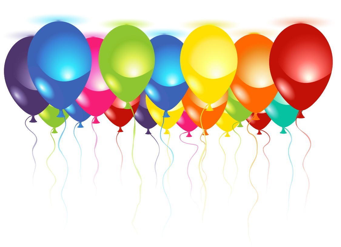 1125x816 Vector Balloons Free Download