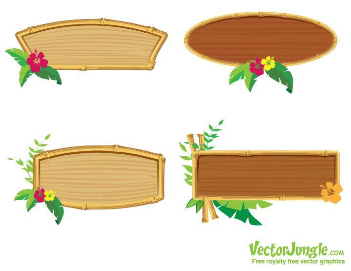 719x555 Bamboo Clipart Hawaiian