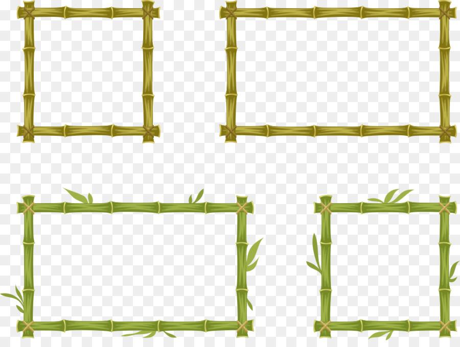 900x680 Download Bamboo Euclidean Vector Vector Bamboo Frame