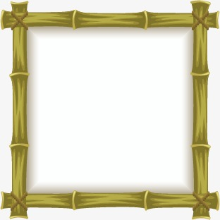 312x312 Bamboo Border, Bamboo, Frame, Vector Border Png And Vector For