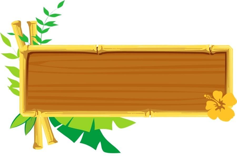 900x600 Bamboo Border Clip Art Bamboo Oval Border Vector Bamboo Border