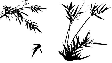 392x223 Bamboo Leaves Free Vector Download (3,790 Free Vector) For