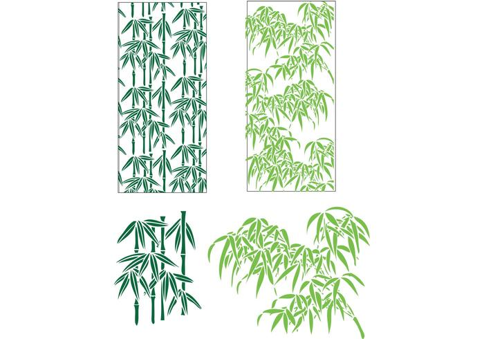 700x490 Free Bamboo Leaves Vector