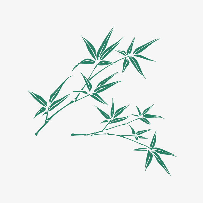 650x651 Bamboo Leaves Hd Download, Bamboo Vector, Bamboo Leaves, Hd