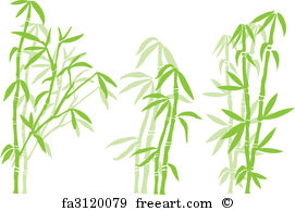 271x194 Free Art Print Of Bamboo. Bamboo, Vector Illustration Freeart