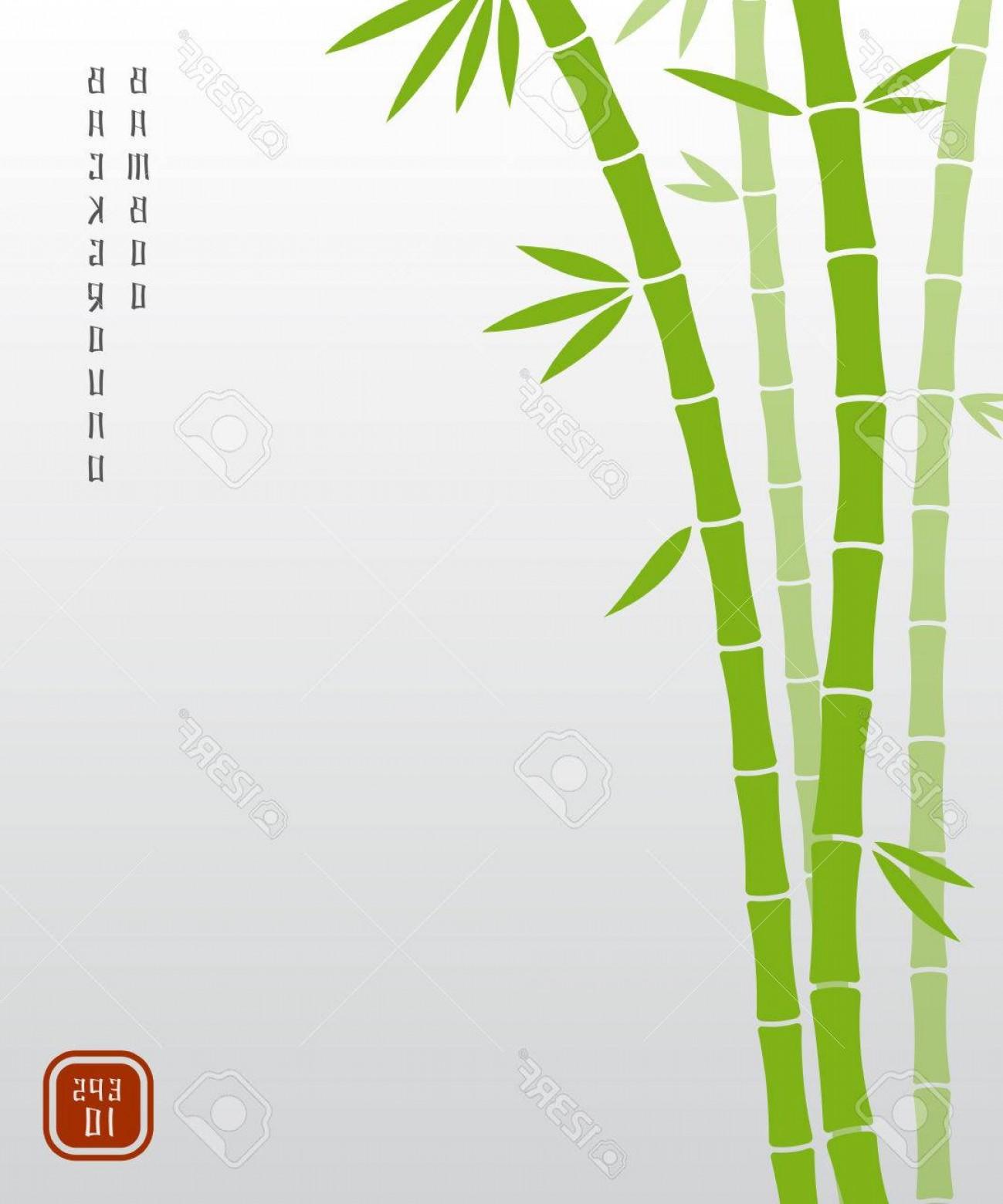 1299x1560 Photostock Vector Chinese Bamboo Or Japanese Bambu Asian Vector