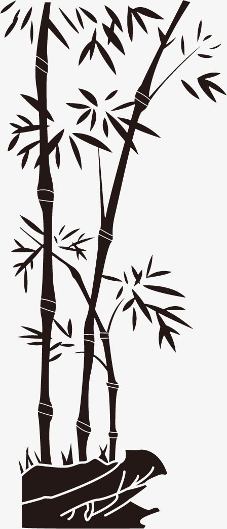 448x1042 Ink Bamboo Vector, Vector, Ink, Bamboo Png And Vector For Free