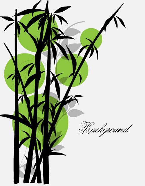 500x640 Black Bamboo Plant Vector