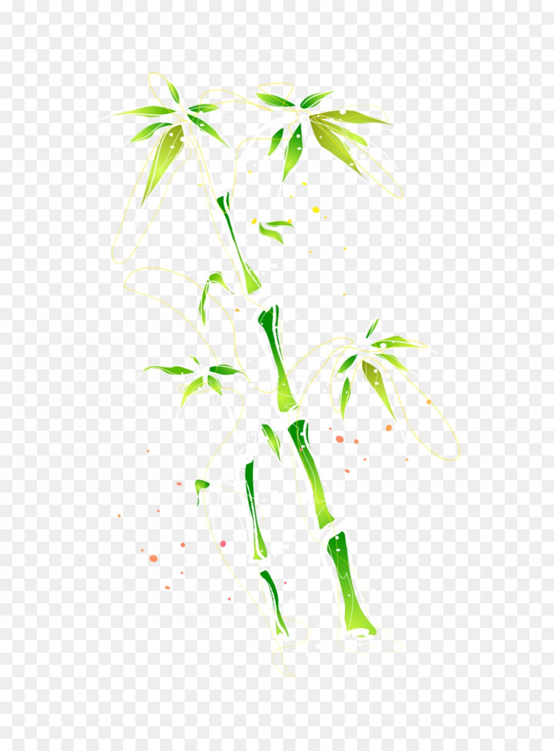 1080x1464 Png Bamboo Watercolor Painting Clip Art Vector Color W Geekchicpro