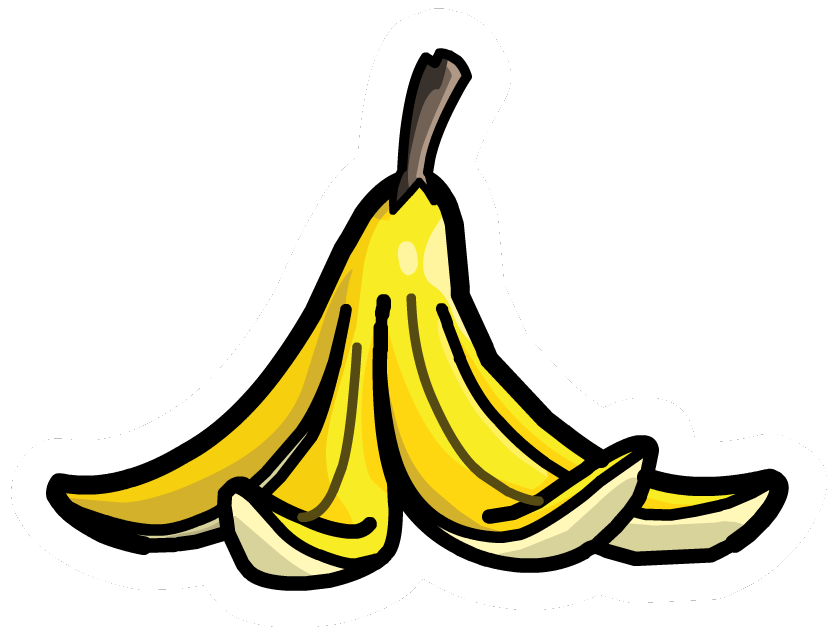 Banana Peel Vector