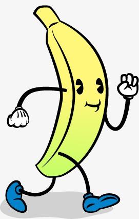 271x426 Banana Vector Material Cute Face, Banana Vector, Face Vector