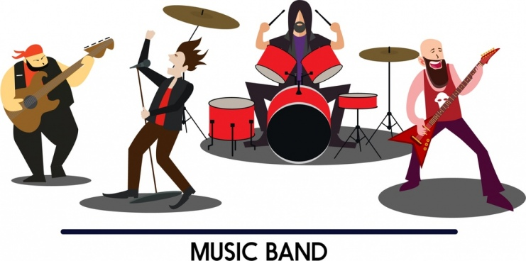 741x368 Music Performance Icons Free Vector Download (22,126 Free Vector