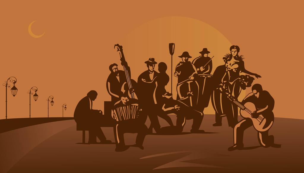 1024x583 Tango Band Vector Art Amp Graphics