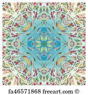 180x195 Free Bandana Print Art Prints And Wall Artwork Freeart