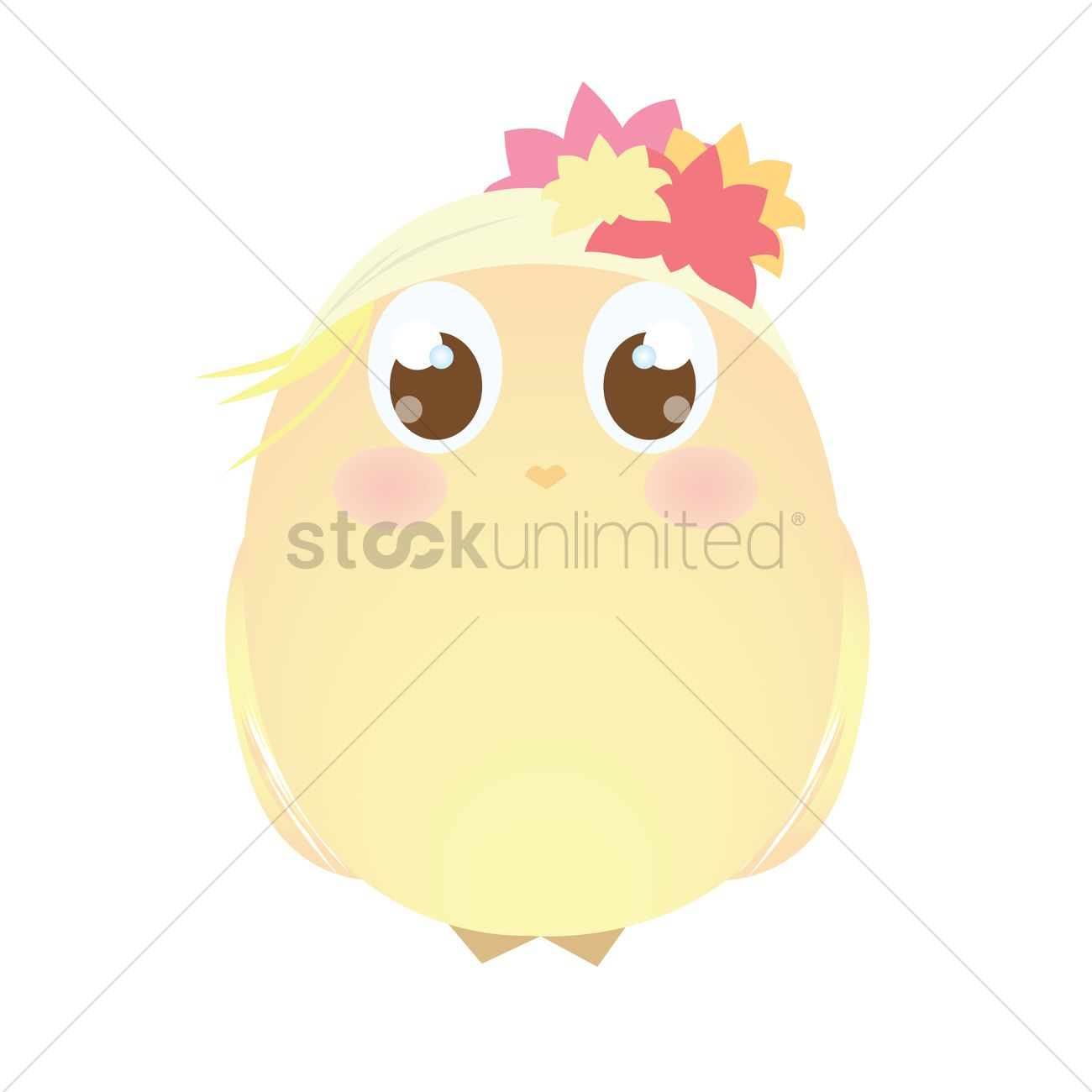 1300x1300 A Chick Wearing A Scarf Bandana Vector Image