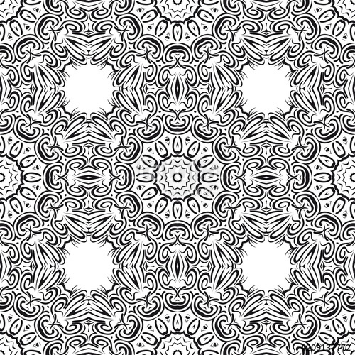 500x500 Pattern With Geometric Color Ornament, Design For Print Fabric