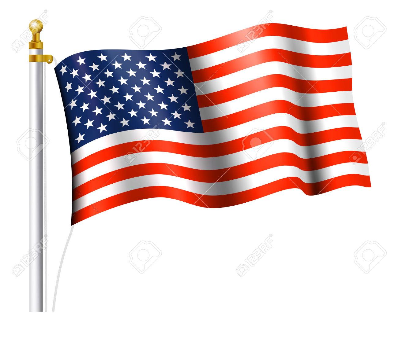 1300x1106 Usa Bandera Clipart