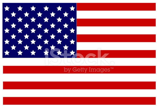 649x440 Bandera Usa Stock Vector