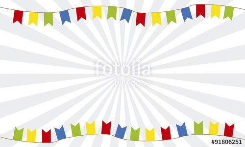 500x300 Fondo Colores Banderines Stock Image And Royalty Free Vector
