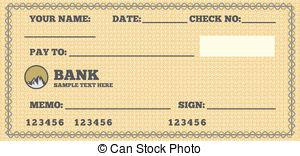 300x156 Bank Check Clipart Amp Bank Check Clip Art Images