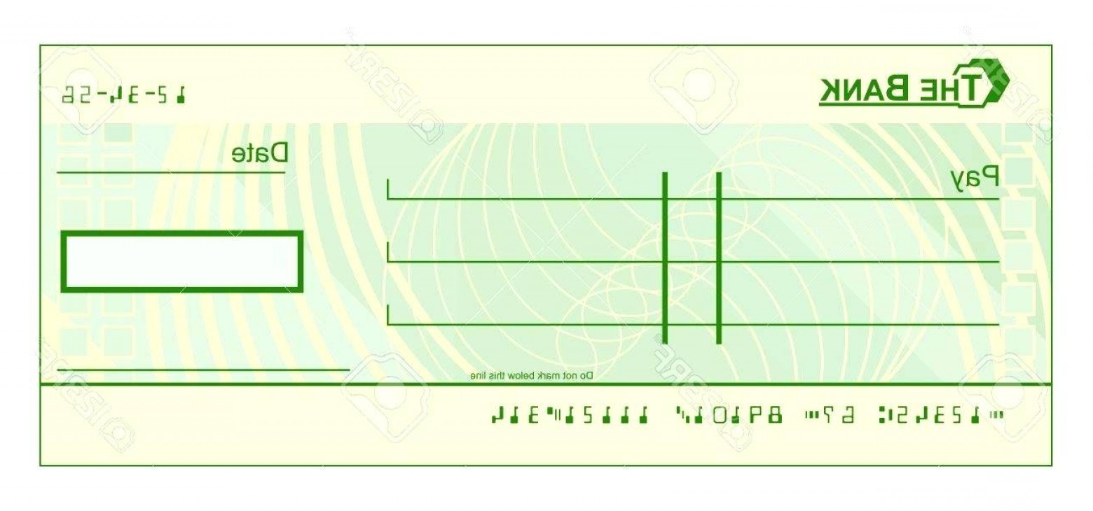 bank check vector at getdrawings com free for personal use bank