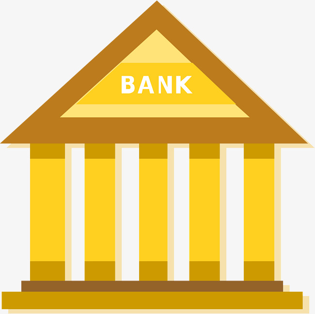 650x648 Golden Bank House Icon, House Vector, Icon Vector, Bank Png And