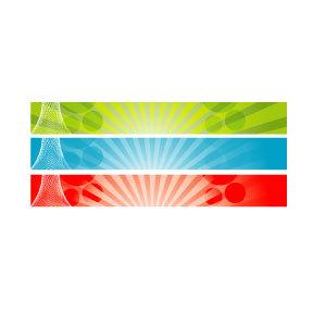 300x300 728x90 Banner Background Vector