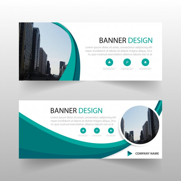 626x626 Green Circle Abstract Banner Template Design Vector Free Download