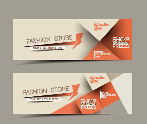 479x404 Vector Web Banners Creative Design Graphics Set 07 Free Download