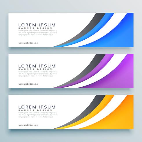 490x490 Stylish Vector Headers Banner Design