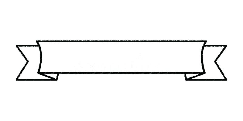 800x400 Download Single Blank Vintage Ribbon Banner Vector Logo Design