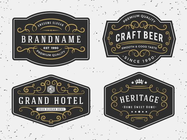 653x490 Flourish Calligraphy Frame Design For Labels, Banner, Logo, Embl