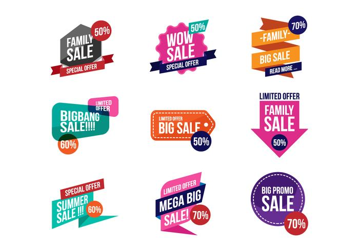 700x490 Free Sale Discount Banner Vector