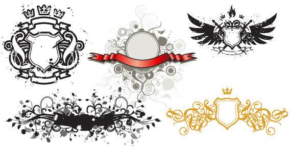 568x294 Free Download Of Banner Set Vector Logo