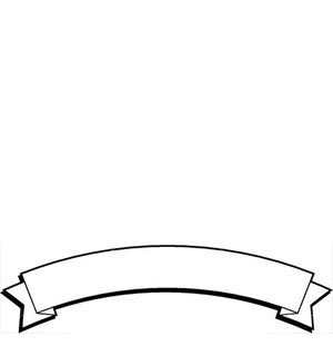 300x320 Collection Of Ribbon Banner Template Clipart High Quality