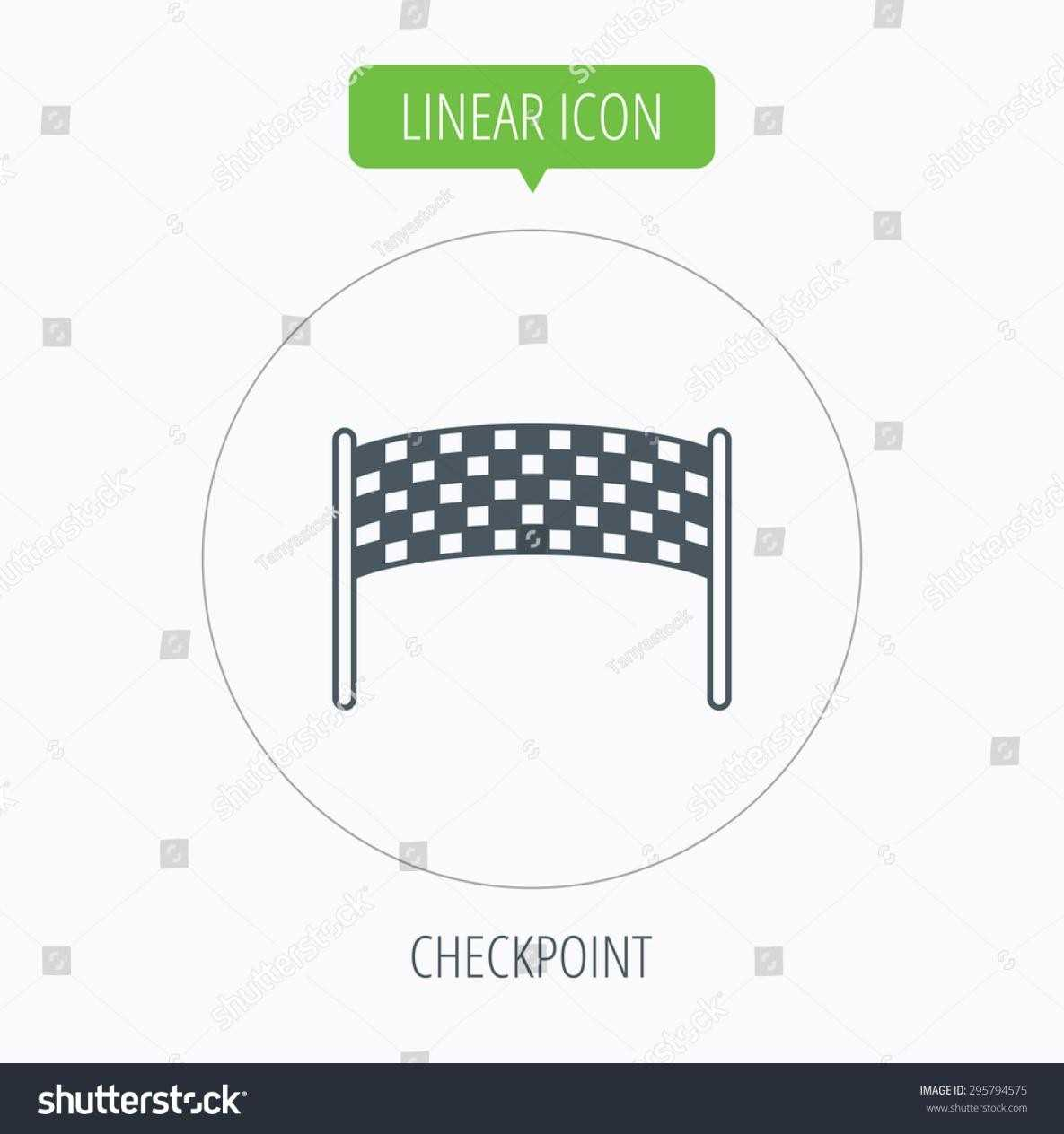 1185x1264 Finishing Circle Banner Outline Checkpoint Icon Marathon Banner